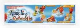 KINDER - 2002 - Cartina Serie ANGELINO E SATANELLO - (FDC15626) - Istruzioni