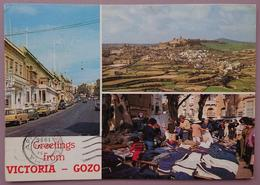 GREETINGS FROM VICTORIA - GOZO (Malta) - Mexico 86 Stamp - Vg - Malta