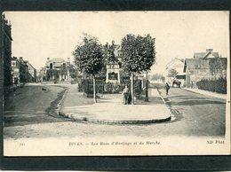 CPA - DIVES - Les Rues D'Hastings Et Du Marché, Animé - Dives