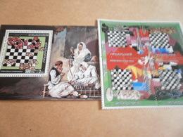 Miniature Sheets Libya 1982 World Chess Championship - Libya
