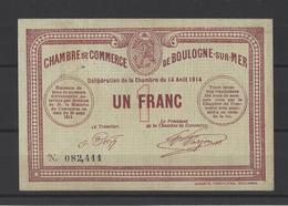 Chambre De Commerce De BOULOGNE SUR MER   Billet De 1.00F - Cámara De Comercio