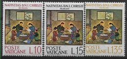 1964 VATICAN 415-17** Noël - Ungebraucht