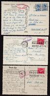 """FRANCE (Poste Maritime)  Paquebot France. Magnifique Lot De 3 Cartes Photos Du """"France""""............... - Poststempel (Briefe)"""