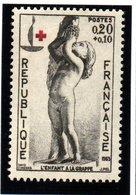 """FRANCE """"CROIX ROUGE"""" 1963-  N° 1400** - France"""