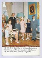 PHOTO KUTTER LL.AA.RR. Le Grand Duc Et La Grande Duchesse De Luxembourg Et Les Princes Et Princesses - Famille Grand-Ducale