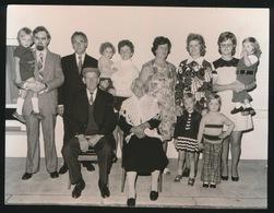 BOEKHOUTE E     FOTO 1973   -  15 X 11 CM  2 X VIER GESLACHTEN - Zulte