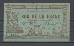 Bon Nécessité  Ville De MOUY  Bon De 1.00F - Bonos