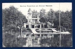 Berlin. Berliner Ruderklub Am Kleinen Wannsee. Club D'aviron Du Petit Lac De Wannsee. Mai 1918 - Wannsee