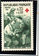 """FRANCE """"CROIX ROUGE"""" 1966-  N° 1508** - France"""