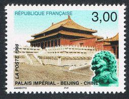 FRANCE : N° 3173 ** (France-Chine : Palais Impérial à PEKIN) - PRIX FIXE - - France