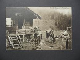 CPA - Nr 81 Gruben - Postablage - Alpes Suisses - VS Valais
