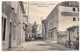 Florac , La Route , L'hôtel Du Parc - Florac