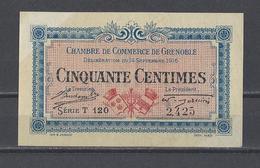 Chambre De Commerce De GRENOBLE  Billet De 50c - Cámara De Comercio