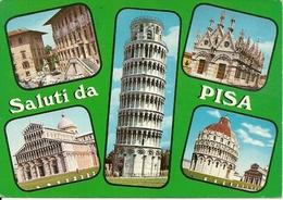 Pisa (Toscana) Vedute E Scorci Panoramici, Panoramics Views, Vues Panoramiques, Ansichten - Pisa