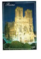 Cpm - 51 - Reims - Cathédrale -  Travaux échafaudage - - Reims