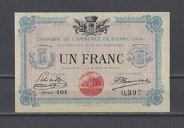 Chambre De Commerce De VIENNE  Billet De 1.00F - Chamber Of Commerce