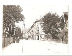 Annecy - La Rue Sommellier - Devant Hotel De La Gare - Vers 1900 - Lieux