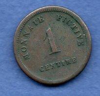 Belgique  - 1 Centime 1833  -  Gand --état  TB+ - Belgique
