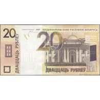 TWN - BELARUS 39b - 20 Rublëy 2009 (2016) Prefix CT UNC - Bielorussia
