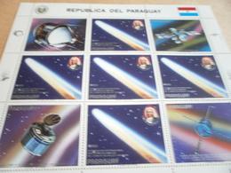 Sheetlet Paraguay 1985 Halleys Comet - Paraguay