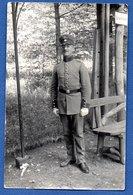 Carte Photo  --  Soldat Allemand - Guerra 1914-18