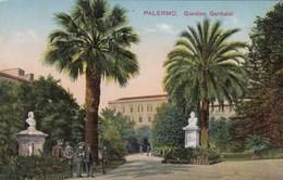 PALERMO-GIARDINO GARIBALDI-CARTOLINA NON VIAGGIATA-ANNO 1910-1920 - Palermo