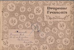 BJ47 - FEUILLETS COLLECTEURS BOZON VERDURAZ - DRAPEAU FRANCAIS - 56 VIGNETTES - Albums & Catalogues