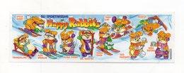 KINDER - 2000 - Cartina Serie Happy Rabbits - (FDC15629) - Istruzioni