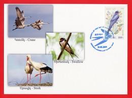 Armenien / Arménie / Armenia 2019, EUROPA Europe CEPT, National Birds, Fauna Swallow - Card Maximum - Armenië