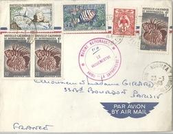 Lettre Nouvelle Calédonie Et Dépendances Cachet De La Marine - La Capricieuse - Nouvelle-Calédonie