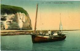 76 YPORT ++ Barque De Pêche ++ - Yport