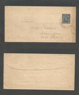 NICARAGUA. 1894. Jinotega - Managua. Local 2c Blue Stat Complete Wrapper On Local Usage. Scarce And Fine. - Nicaragua