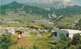 AUSSOIS (73). Le Terrain De Camping Face à La Dent Parrachée - Hotels & Restaurants