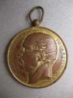 Médaille En Cuivre Mac MAHON Président De La République. Société Nationale De Tir, Par Tasset - Other