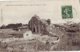 37 RE CPA Saint Nicolas De Brem Eglise - Sonstige Gemeinden