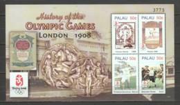 Palau - MNH Sheet SUMMER OLYMPICS LONDON 1908 - Zomer 1908: Londen