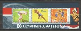Uganda - MNH Sheet 2 SUMMER OLYMPICS AMSTERDAM 1928 - Zomer 1928: Amsterdam