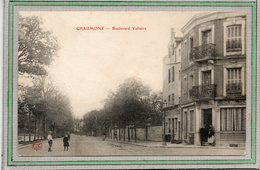 CPA - CHAUMONT (52) - Aspect Du Boulevard Voltaire En 1906 - Chaumont