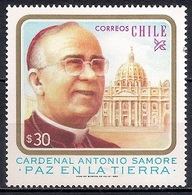 Chile 1983 - MINT - The Death Of Cardinal Antonio Samore, 1905-1983 - Chile