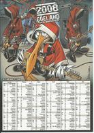 Calendrier Publicitaire 2008: GOELAND (Vêtements Et Accessoires Punk/Rock) - Calendriers