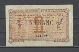 Chambre De Commerce Du TARN  Billet De 1.00F - Cámara De Comercio