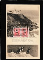 Lundy,UK-Isle Of Puffins,the North Light 1951- Antique Postcard - United Kingdom