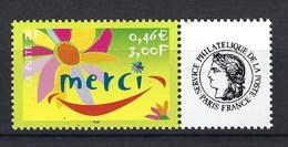 France, Timbre Personnalisé, Année 2001, N° 3433 ** - Personnalisés