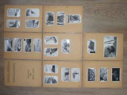 23 PHOTOS Du BARRAGE HYDRO ELECTRIQUE De 7 LAUX ( Dépt 38), Réalisé De: 1938 à 1941 - Albums & Collections