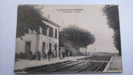 Carte Postale ( S9 ) Ancienne De Passavant , La Gare - Sonstige Gemeinden