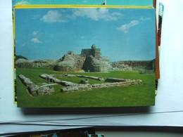 Engeland England Sussex Pevensey Castle - Engeland