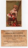CHROMO Chocolat Guérin-Boutron Vallet-Minot Enfant Fille Fillette Jouet Polichinelle Chaise - Guerin Boutron
