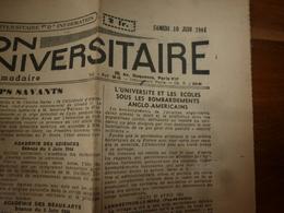 1944 INFO-UNI : Sous Les Bombardements (Landrethun-le-Nord,Pont-L'évèque,Gonneville/Merville,Ailly-le-H-C,Blonville;etc - Other