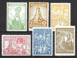 Bulgaria 1934 - Shipka Pass Battle Memorial - 1909-45 Kingdom