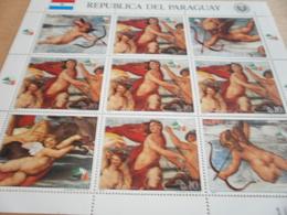 Sheetlet Paraguay 1985 Rafael - Paraguay